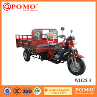 China Made High Quality Strong Box Air Cooled 250CC Cargo Trycycle With Passenger Seat