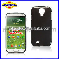 Laudtec plain tpu gel case for s4 back cover case for Samsung Galaxy S4 i9500