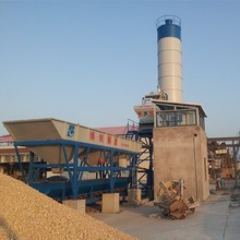 HZS25 concrete factory machine plant with weighing scale
