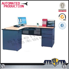 2 Seat Office Pedestal Drawer Desk / Steel Office Desks for Two People / 2 Person Office Desk