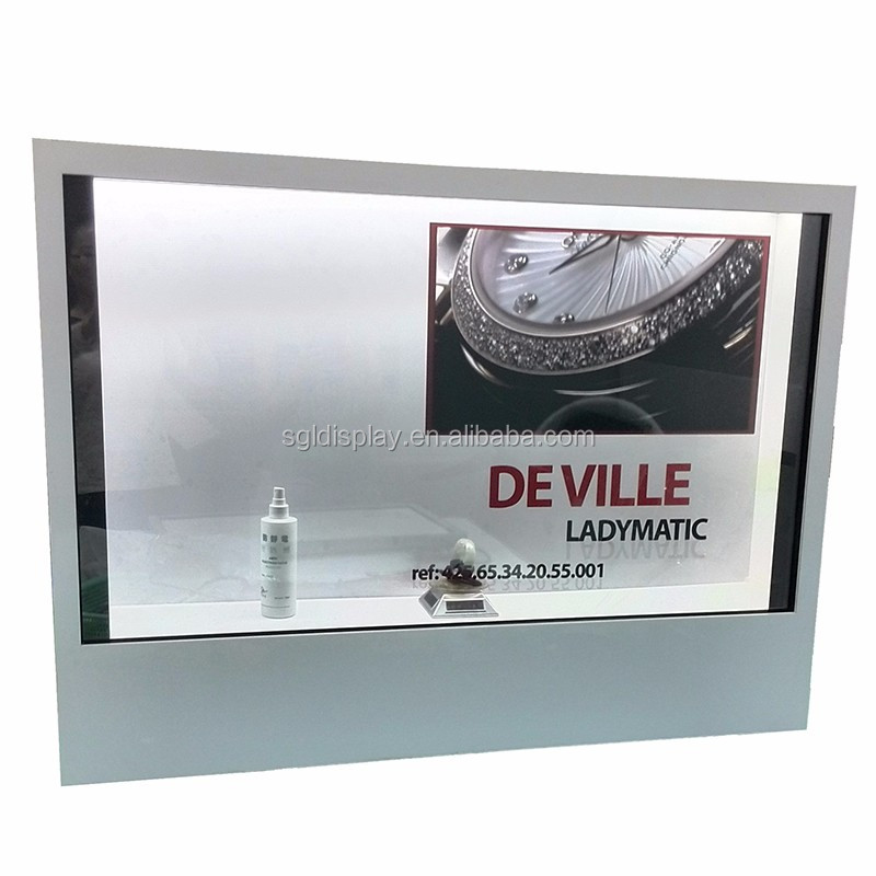 47 Inch TFT Indoor Dynamic Video Transparent LCD Display