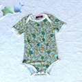 Skin Friendly Healthy Newborn Bamboo Bodysuit