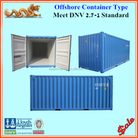 DNV 2.7-1 BS EN 12079 certified 10ft 20ft new offshore container
