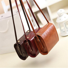 Mini Jelly Bag Ofertas Women Vintage Leather Handbags Ladies Party Purse Wedding Clutches Cosmetic Makeup Shoulder Bags