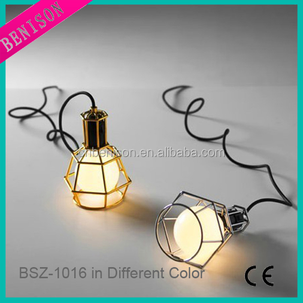 Mini Hanging Lamp Industrial Ceiling Lamp Wire Cage Pendant Light (Item no. BSZ-1016)