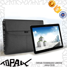 2016 new product business leather tablet sleeve for ipad
