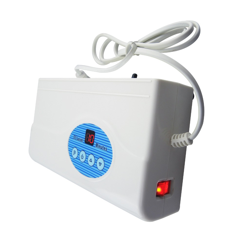 Digital Ozone Generator Air Quality <strong>Purifier</strong> <strong>O3</strong> Clean Sterilization Air Dryer 200mG/H Food Preparation Water Purification
