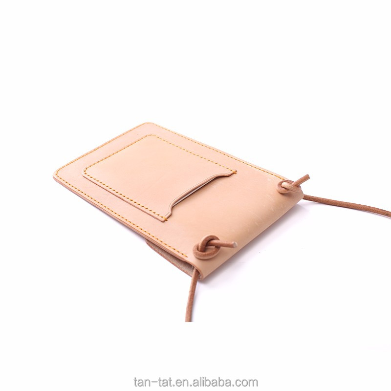 Leather Passport Pouch Cross Body Bag Phone Case