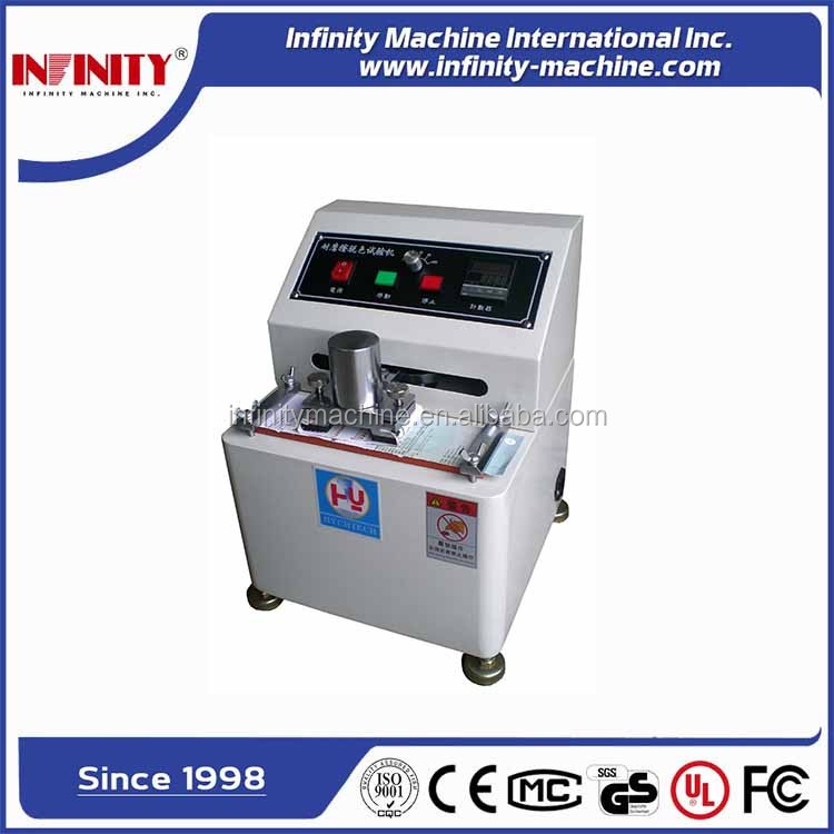 Coating Surface Ink Rub Test Equipment