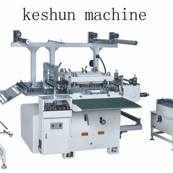 Wide use of simple and safe operation semi automatic flat bed die cutting machine