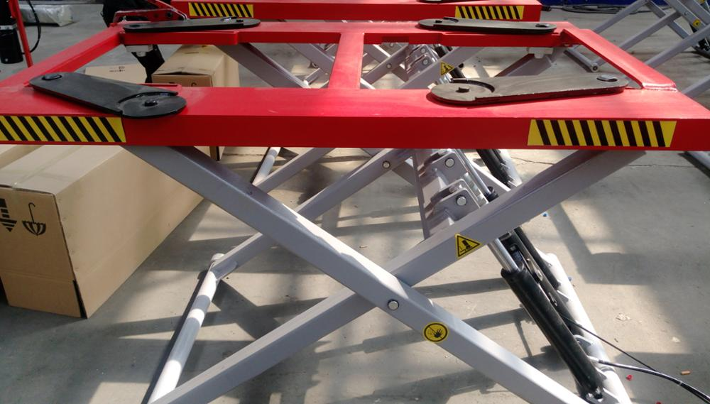 NHT Cheap Good Price High Quility Electric YYJ-2800(Standard Size, Original Design) Scissor lift, 2.8Tons