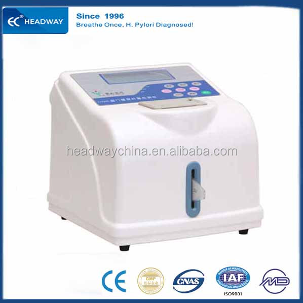 Portable Medical Laboratory Diagnostic Equipment Helicobacter Pylori Detector well suited for Doctor's Office and Laboratories