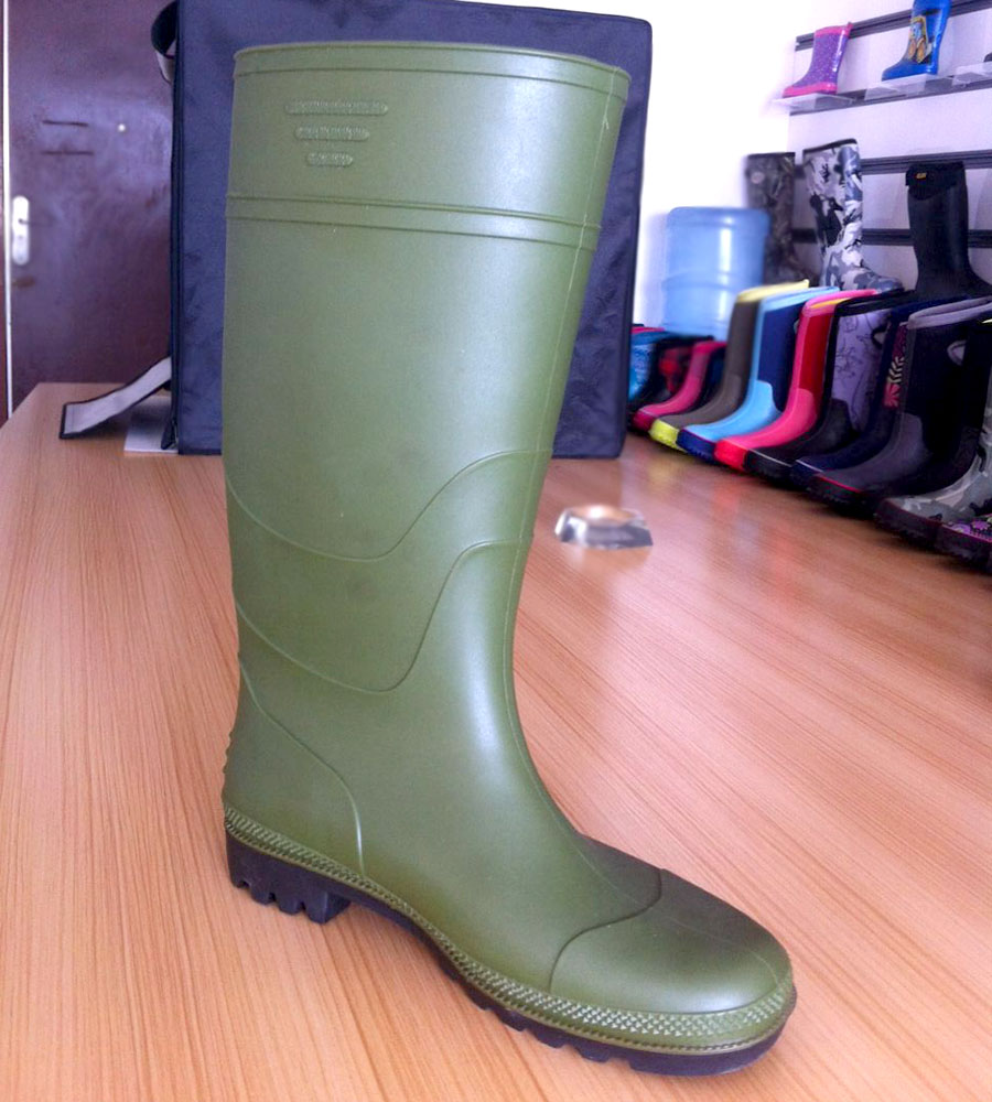 Cotton Fabric Lining Material Knee Boot Height Women Gender Buy Shoes Sex Ladies Rubber Rain Boots