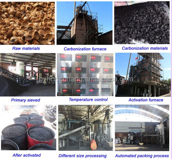 factory supply coconut shell activated carbon price