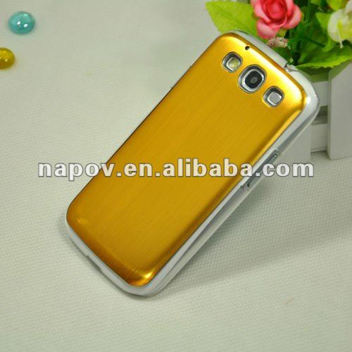 aluminum metal back cover case for samsung galaxy s3 i9300