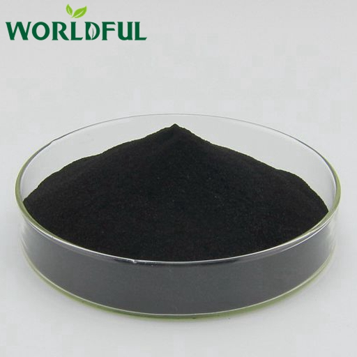 Hot efficient organic soil humic acid for human consumption, 100% water soluble organic fertilizer humic acid powder
