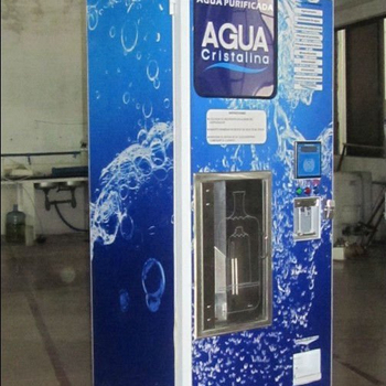 Automatic water vending machines outdoor
