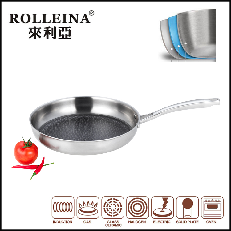 chicken rice square copper pan wonderchef panceramic aluminum mini fry pan slip stone pan