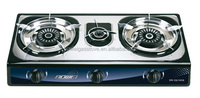 Home Appliances Stainless Steel Gas Stove , Portable Kitchen Rice Cooker , Triple Burner Cooktop/Gas Hob