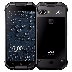 5.5 inch sun-readable AMOLED screen 6+64GB Android 7.1.1 rugged phone smartphone 2017