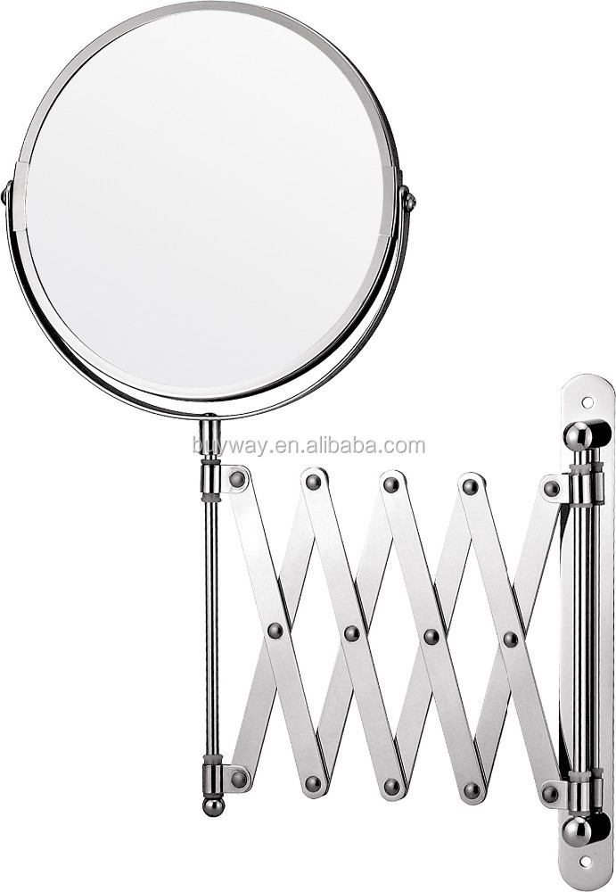 Chrome Wall Mounted Magnifying Makeup StrongMirror Strong Cosmetic