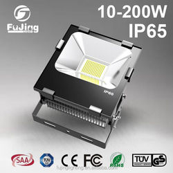 2016 shanghai good quality 100w led flood light IP65 waterproof 10000 lumens ultra thin 100watt led floodlight