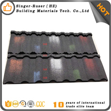 Free Sample!! SGB-001 Aluminum Zinc Stone Coated Steel Metal Roofing Tile/Roofing Sheet/Roof Shingle Price
