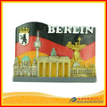 Wholesale china supply country souvenir fridge magnet for berlin