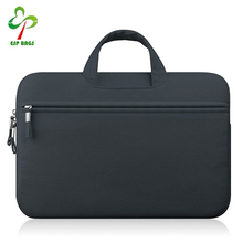 Portable Waterproof Fabric Security Briefcase, Laptop Carrying Case Tote Bag for 13 Inch Notebook