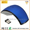2.4G Arc Wireless Mouse Computer Foldable Mouse with USB Receiver
