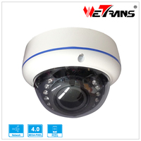 Small CCTV Camera Vandal-proof 2.8-12 Varifocal lens support mobile phone view P2P Motion Detection HD IP Camera TR-IP40AD115
