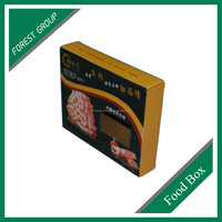 HOT SELL FISH FILLET PAPER BOX FOR MEAT