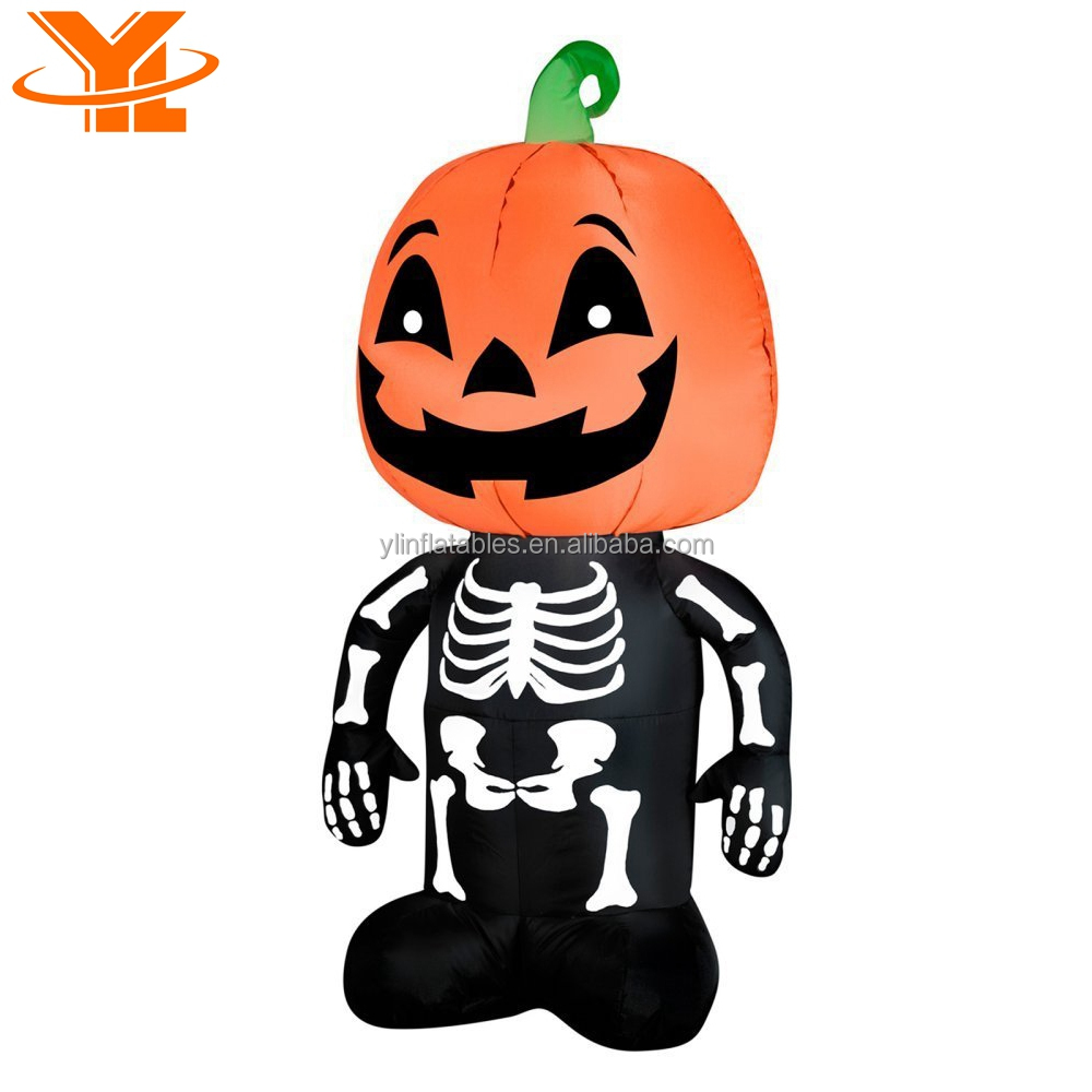 halloween inflatable pumpkin ghost decoration yard halloween pumpkin decorations for party