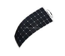 Topsky 100W Semi-Flexible Bendable Solar Panel For RV Car Boat Yacht Cabin Tent Camping light solar panel portable solar panel