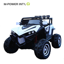 Children's gift electric car toys new modle off-road vehicle 12V two motor painting kids electric car