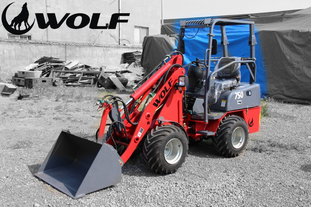 WOLF mini garden tractor loader for sale