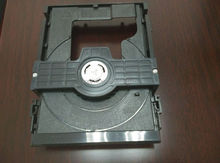 Injection plastic DVD movement holder