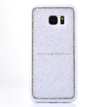 Bling bling chrome case back cover for Samsung Galaxy S7, Diamond cover for Galaxy S7