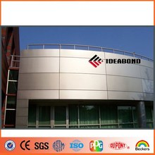 Alucobond price of 4mm wood and timber surface aluminum wall panel for home