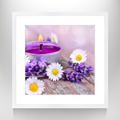 Beauty Flower Picture Print Home Decor Canvas Flower Art Stretched Canvas Flower Art