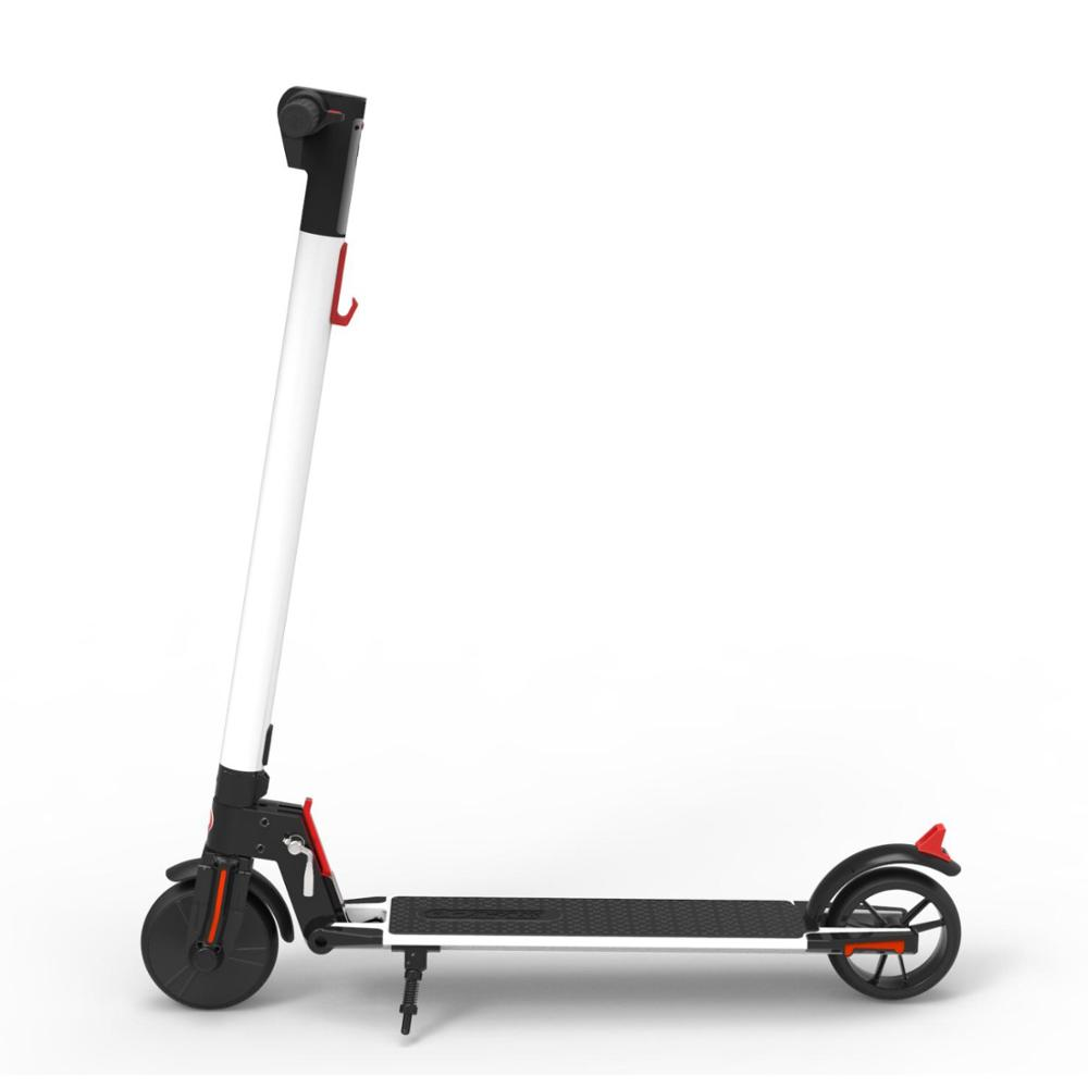 Yoobao Electric Scooter - Lightweight, Foldable, Portable Electric Kick Scooter Speeds Up to 25km/<strong>h</strong> and 15-20 Miles
