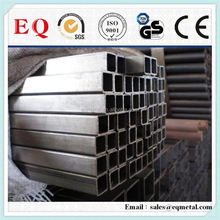 Bright steel pipe online metal supply thin wall square steel tube