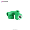 high pressure pp and polypropylene material ppr gi tee reducer pipe fitting