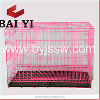 Wholesale Collapsible Steel Bar Dog Cage And Dog Kennel
