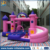 High Quality PVC Bouncy Castle Inflatable With Slide For Sale