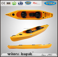 Winner 4.00mtr 3 seater fishing kayak wholesale CANNONBALL