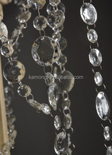 round shape acrylic crystal ornaments with gift