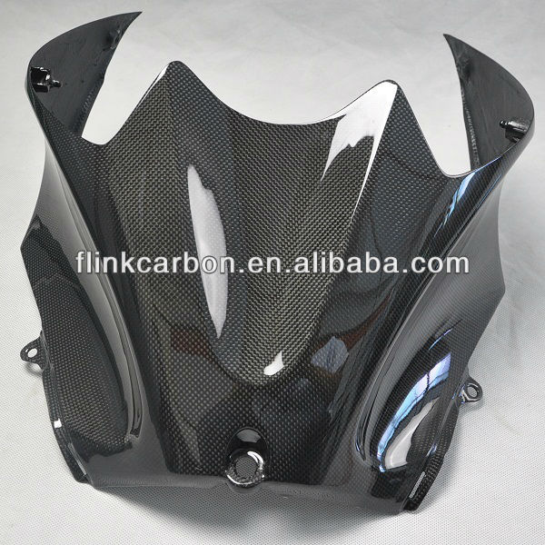 carbon fiber motorcycle replace part Tank Cover for Kawasaki ZX14 06-09