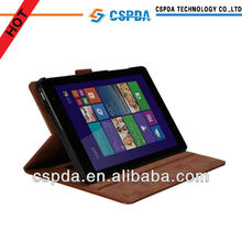 Folio stand case with PC shell for DELL VENUS 8 PRO