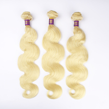 Grade 8A virgin russian blonde hair color 613 blonde hair extensions